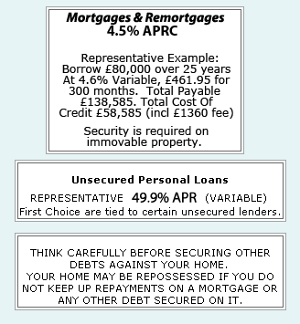 Loans and Mortgage Broker